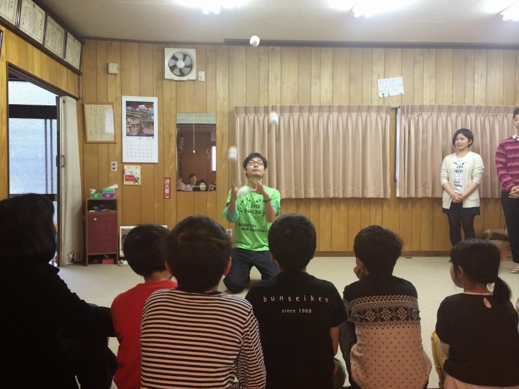 2014年春休み地域交流型学童保育プログラムの風景